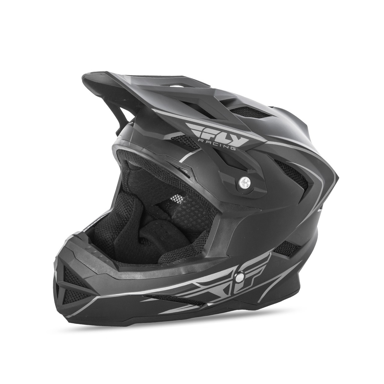 Fly Racing Default Helm MTB matt-schwarz