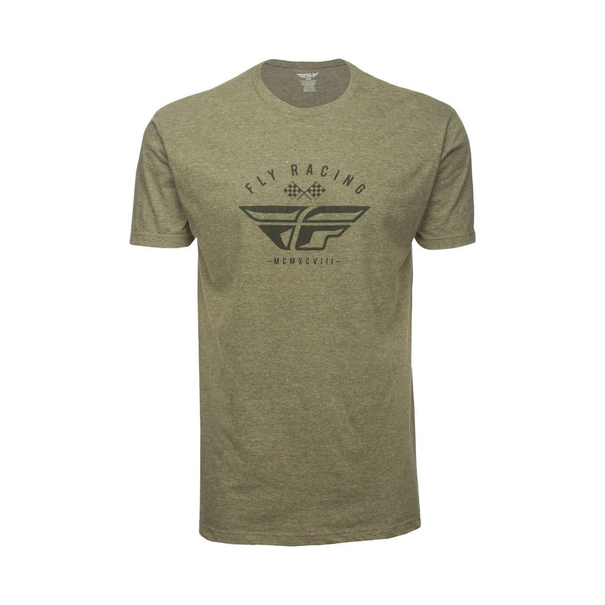 Fly Racing T-Shirt Patriarch sage