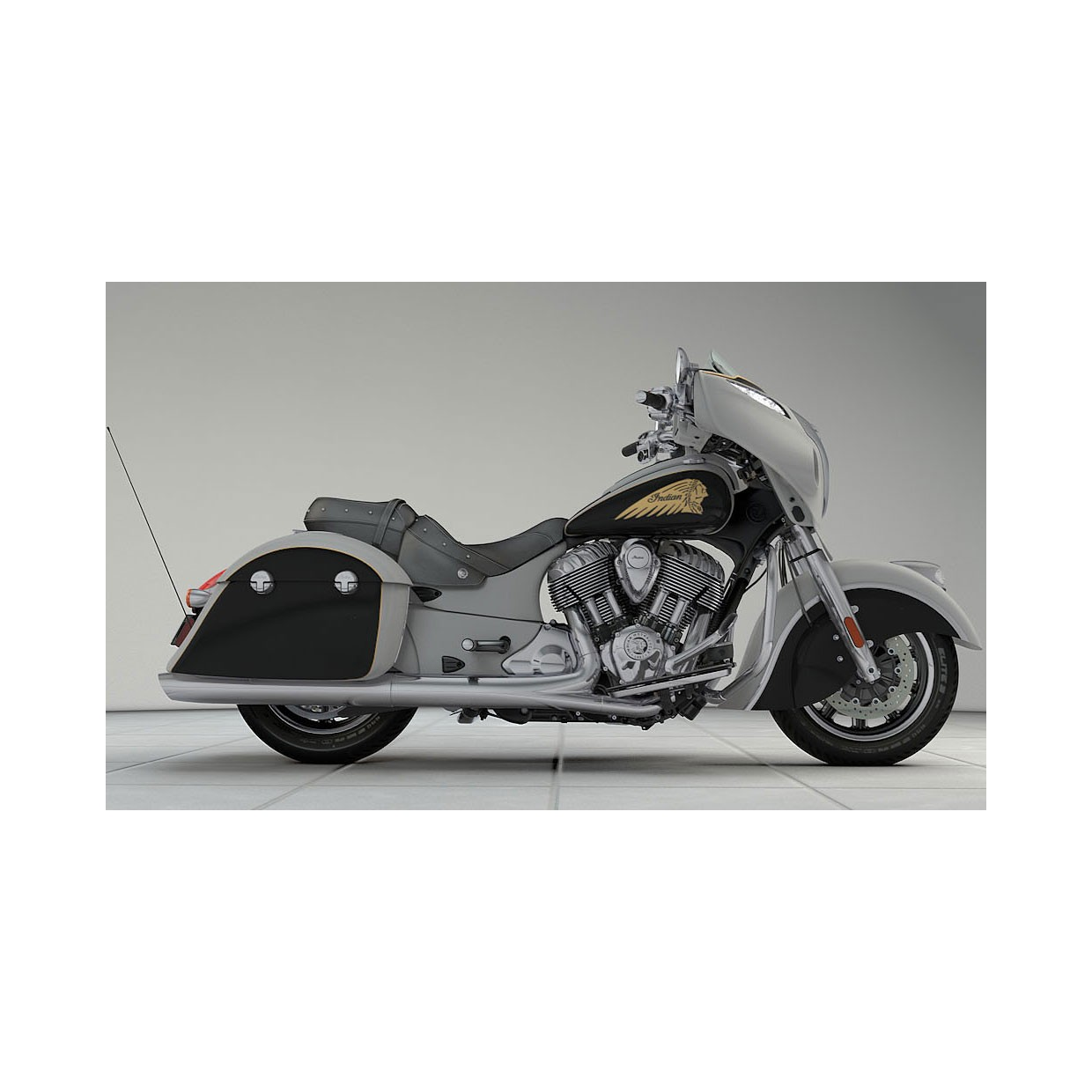 INDIAN Chieftain Star Silver/Thunder Black