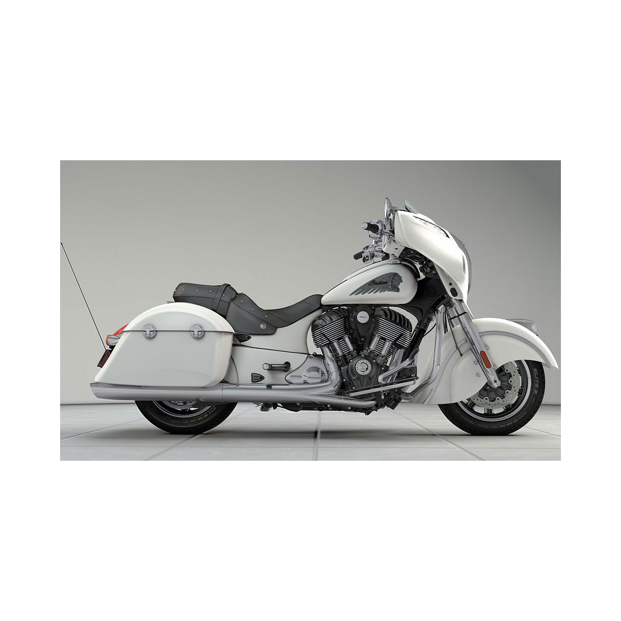 INDIAN Chieftain White Smoke
