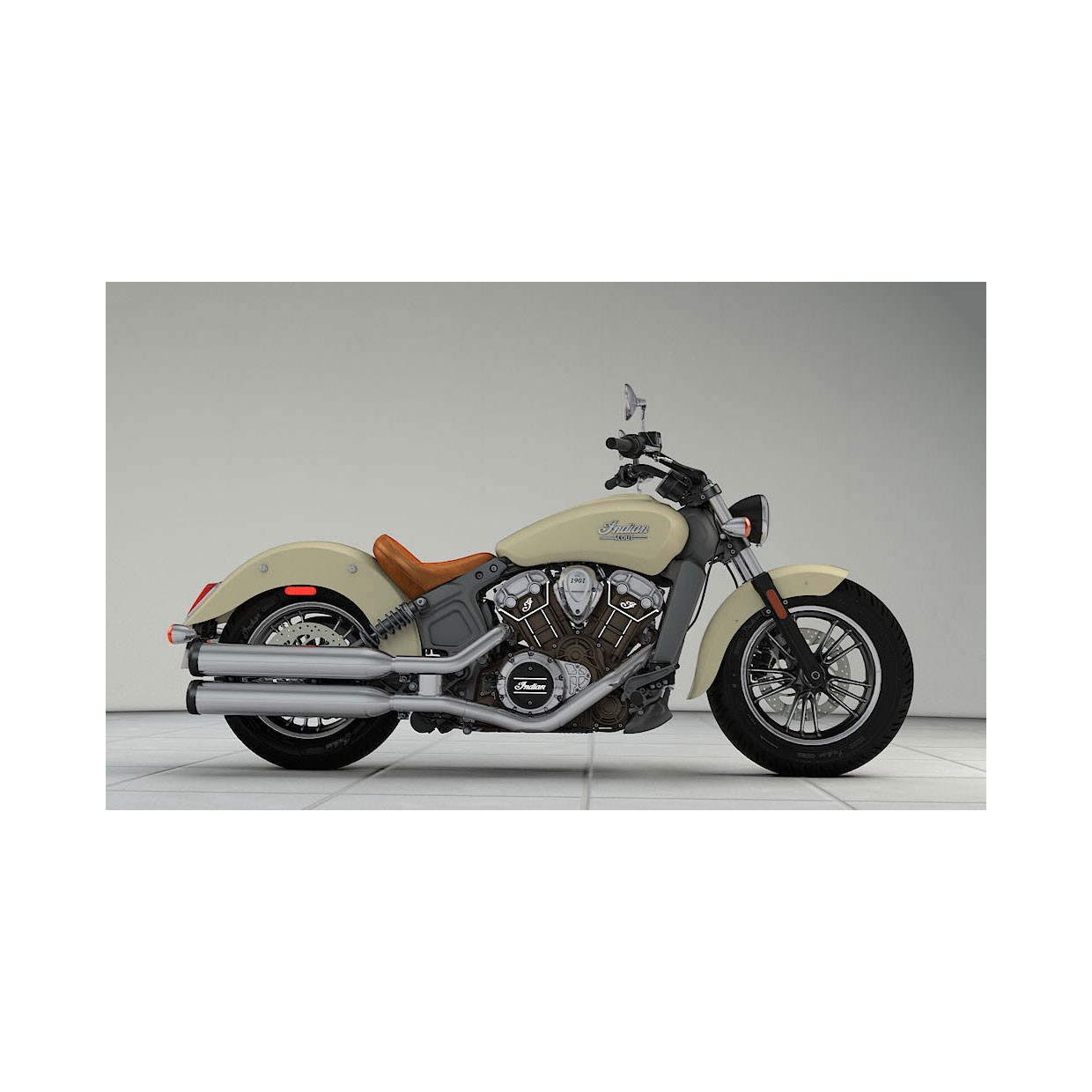 INDIAN Scout Ivory Cream