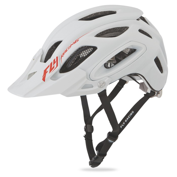 Fly Racing Helm Freestone weiß