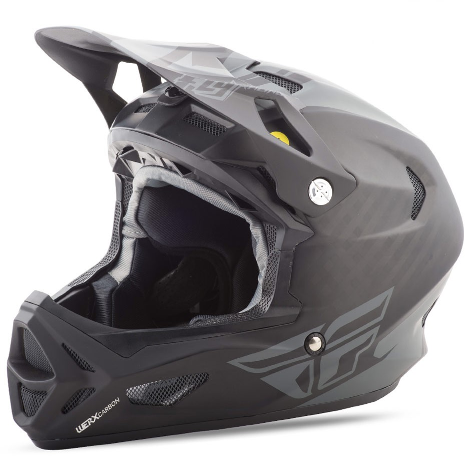 fly racing helm werx mips rival mtb bmx matt schwarz. Black Bedroom Furniture Sets. Home Design Ideas