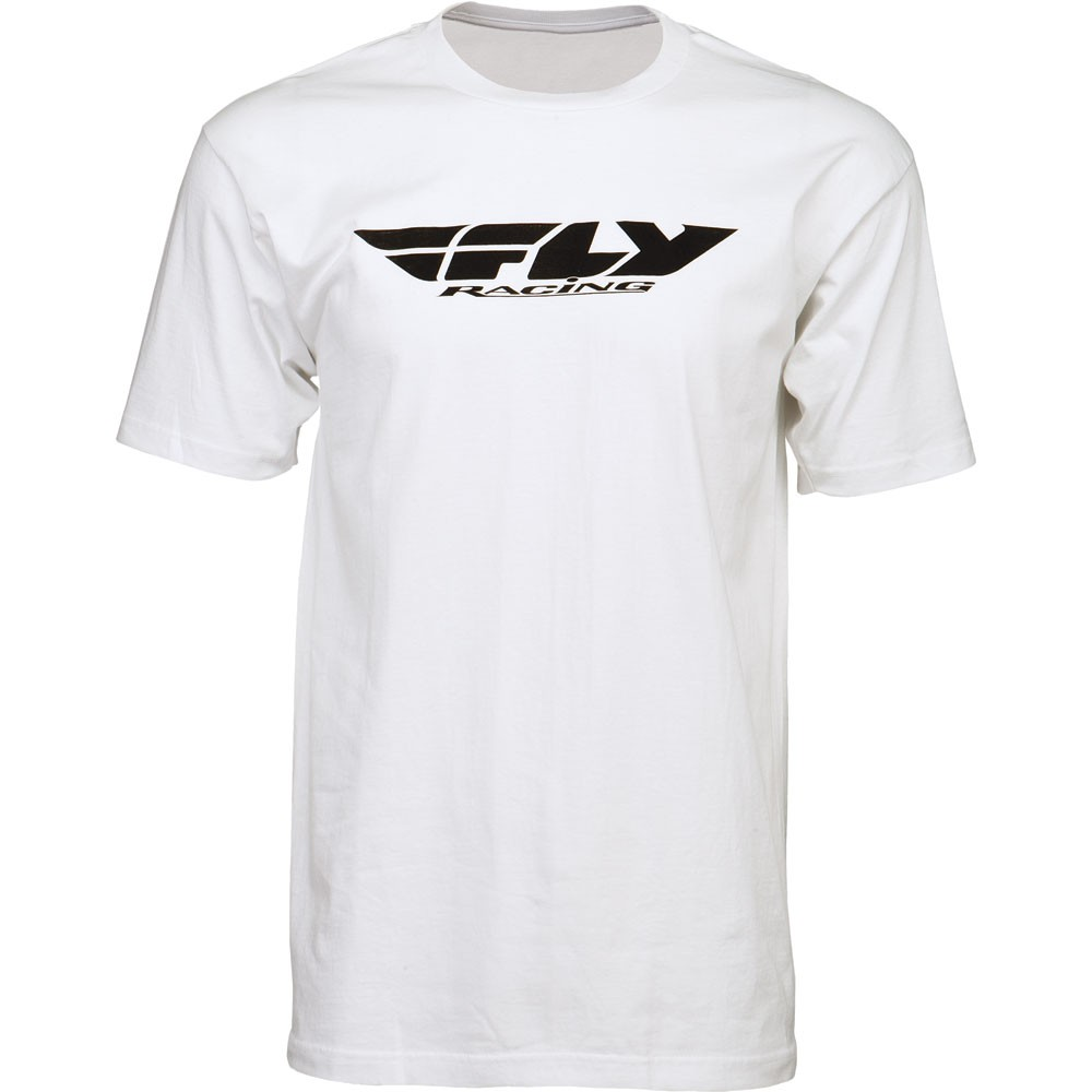 Fly Racing T-Shirt Corporate weiß