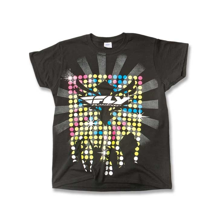 Fly Racing T-Shirt Fame Lady schwarz
