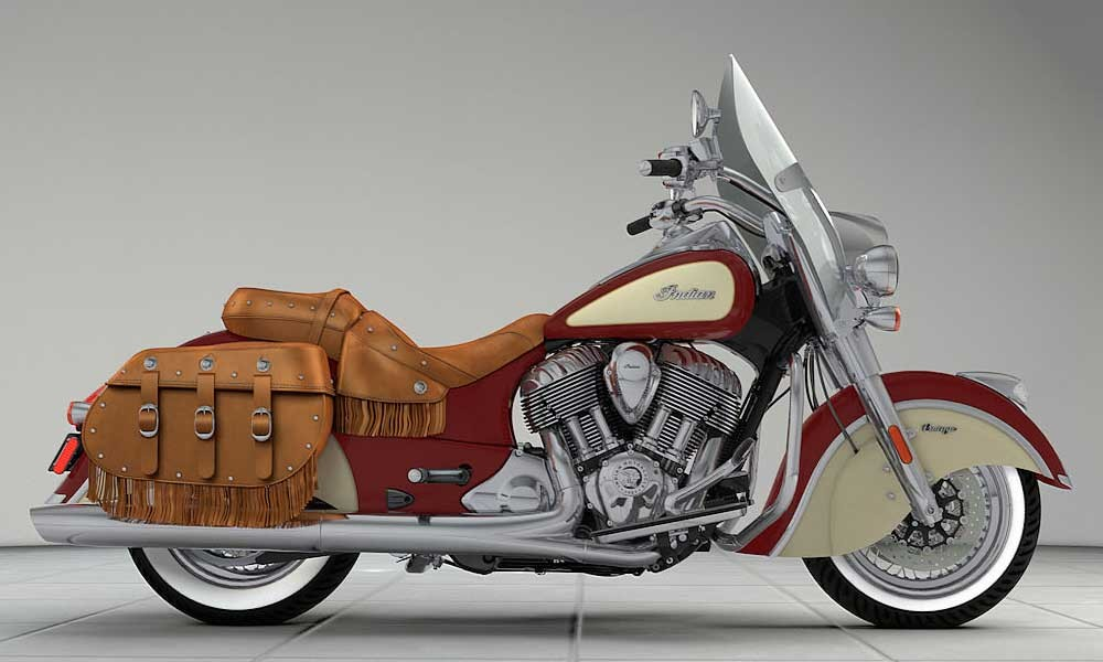 INDIAN Chief Vintage Indian Red/Ivory Cream