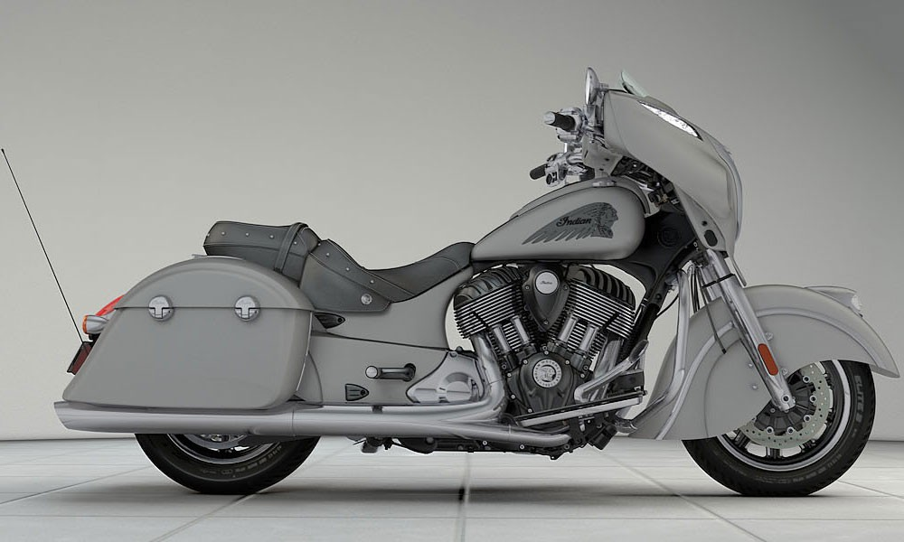 INDIAN Chieftain Silver Smoke