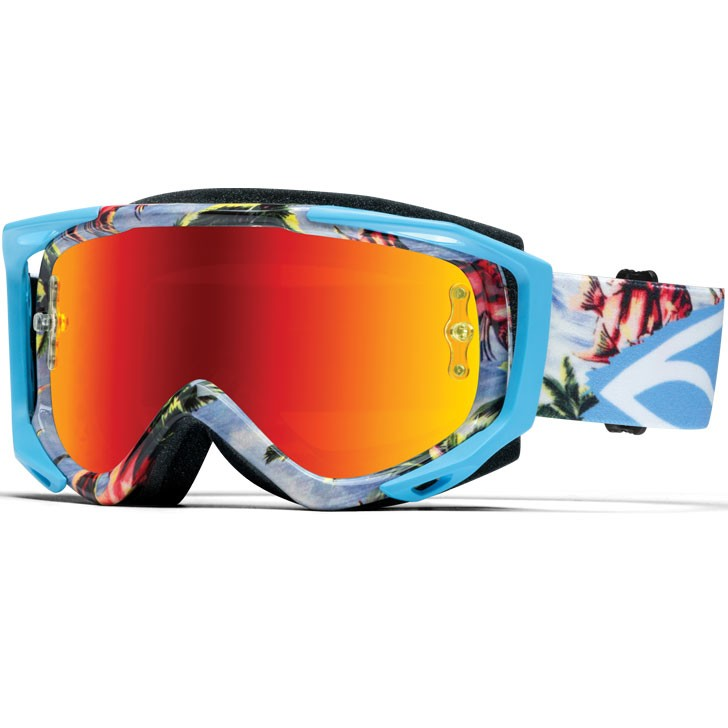 Smith Optics Brille Fuel v2 Sweat-X M blau burnout