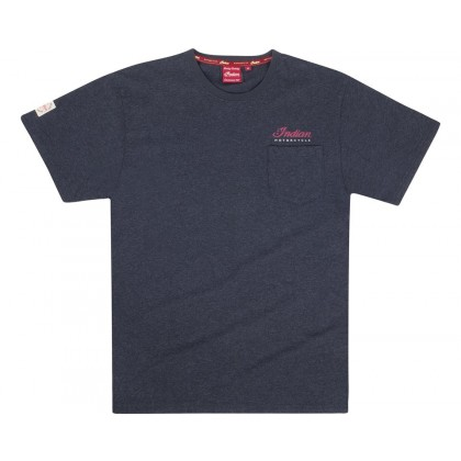 Indian T-Shirt Script Icon charcoal