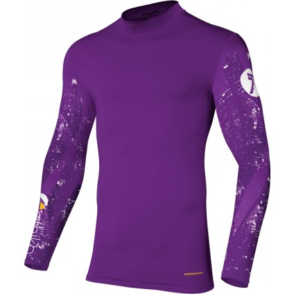 Seven Hemd Zero Compression Ethika purple