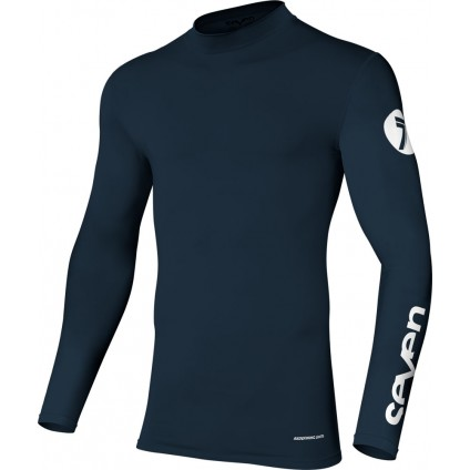 Seven Hemd Zero Compression navy