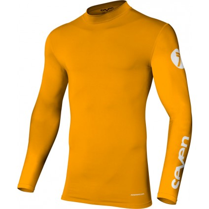 Seven Hemd Zero Compression orange