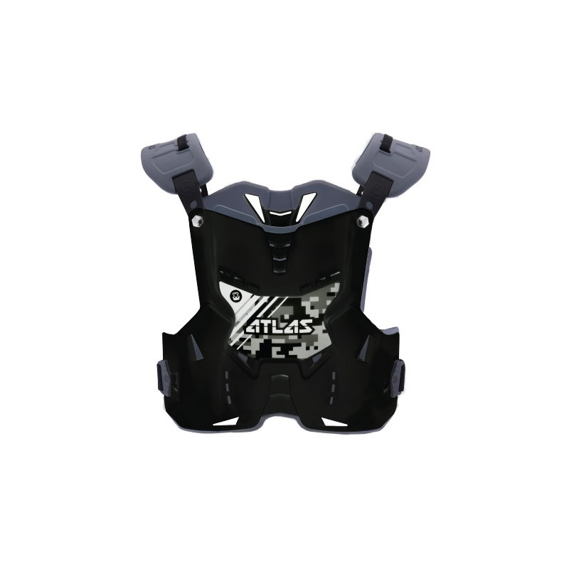 Atlas Brace Brustschutz Defender Junior Stealth schwarz