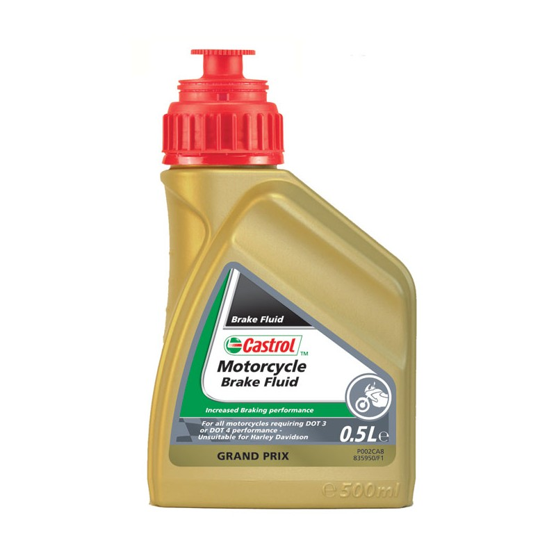 Castrol Motorcycle Brake Fluid 1 Liter
