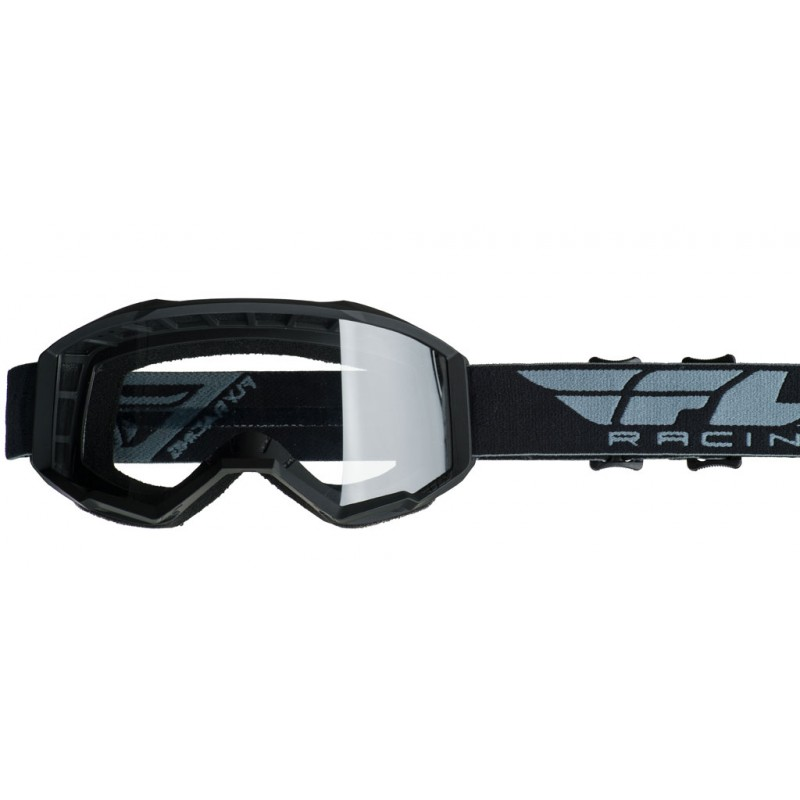 Fly Racing Brille Focus Kids schwarz