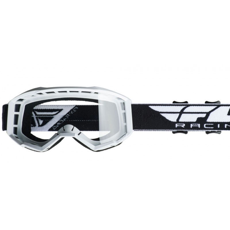 Fly Racing Brille Focus weiß