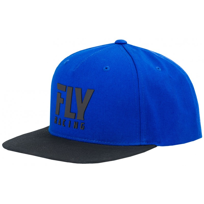 Fly Racing Cap Fly Logo blau