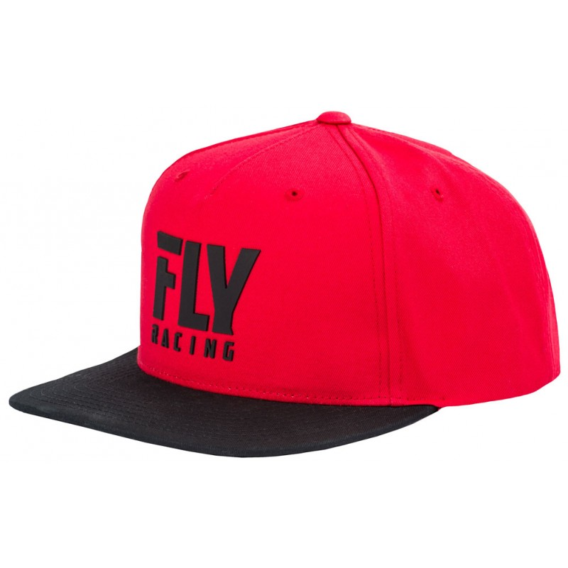 Fly Racing Cap Fly Logo rot