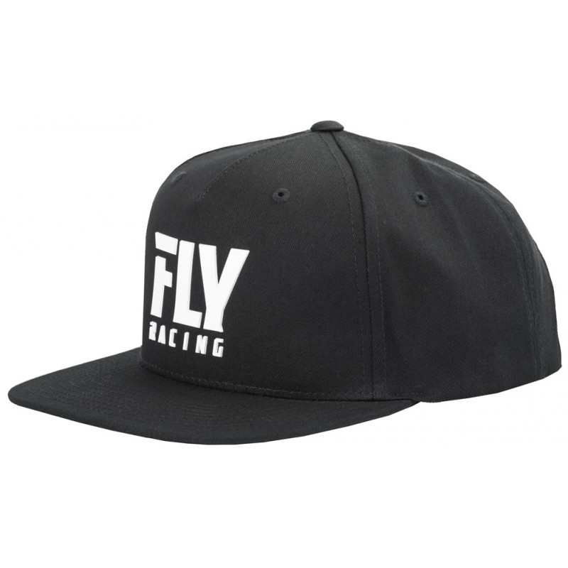 Fly Racing Cap Fly Logo schwarz