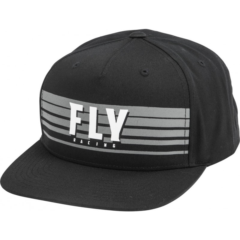 Fly Racing Cap Kinetic schwarz