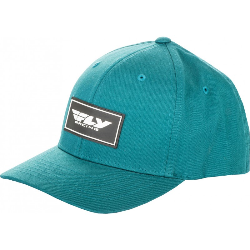 Fly Racing Cap Stock deep teal