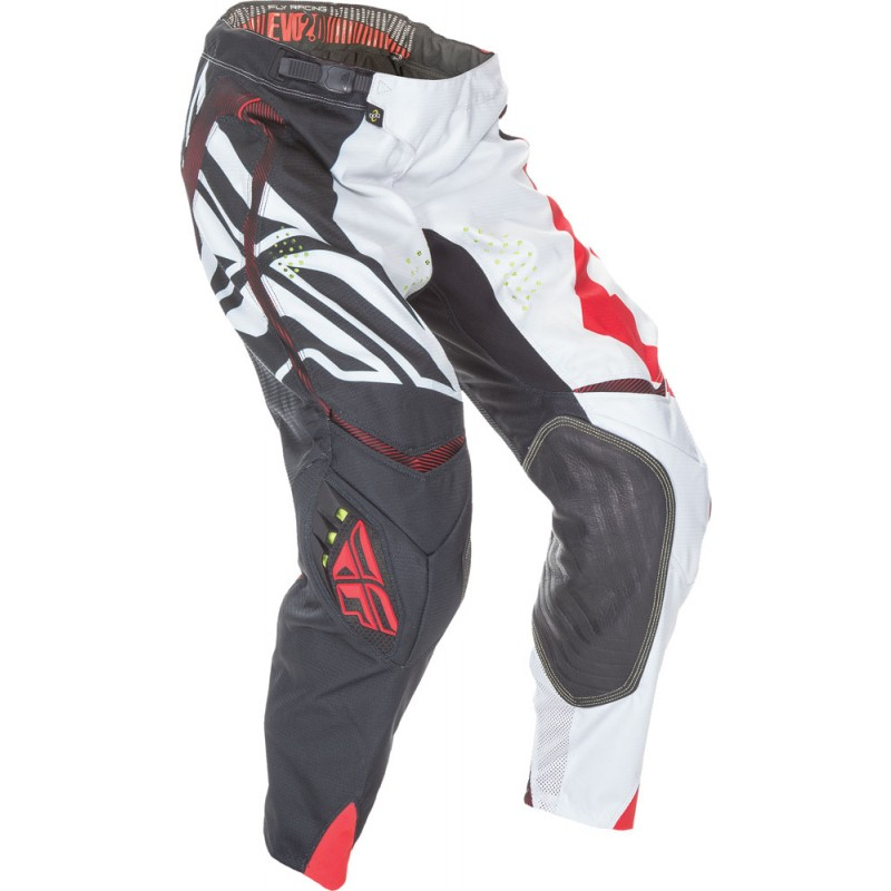 Fly Racing Evolution 2.0 Hose Switchback sw-weiß-rot