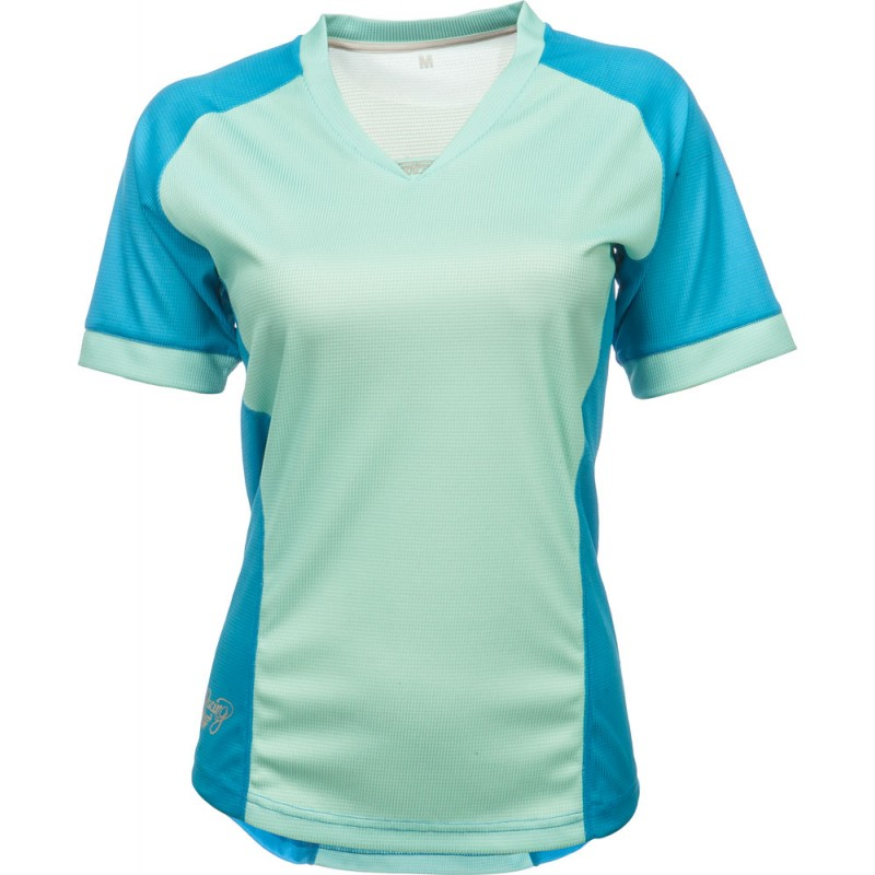 Fly Racing Fahrradshirt Lilly Lady türkis