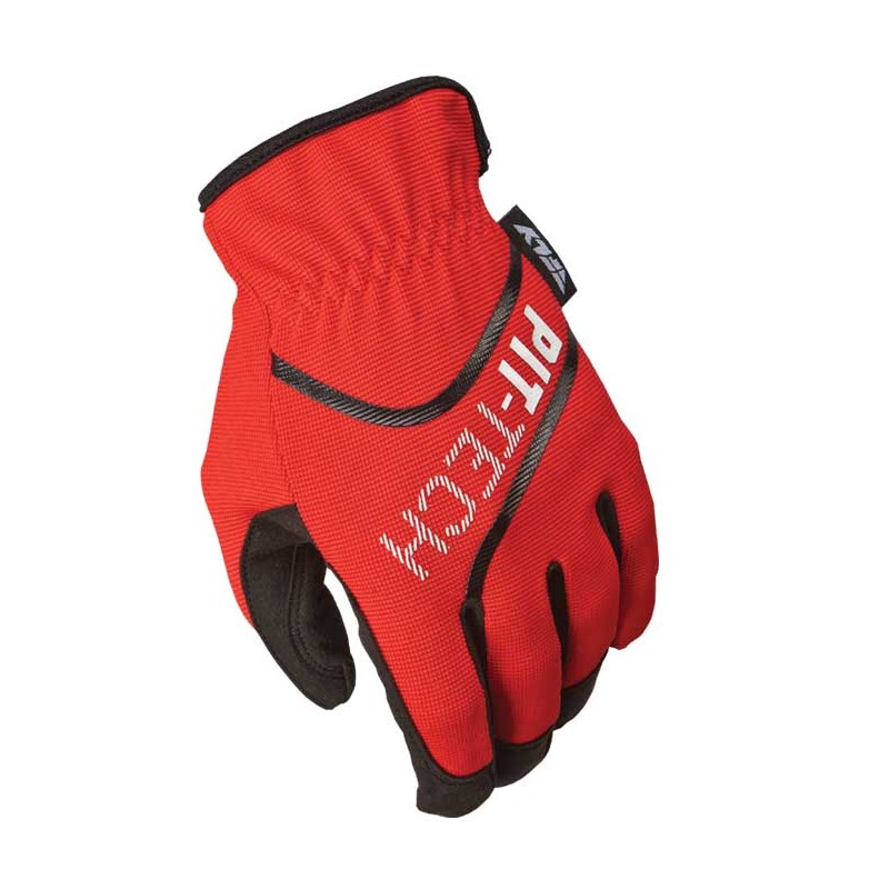 Fly Racing Handschuhe Mec Pit Tech Lite rot