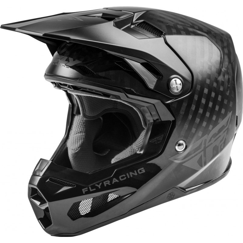 Fly Racing Helm Formula Kids Carbon schwarz