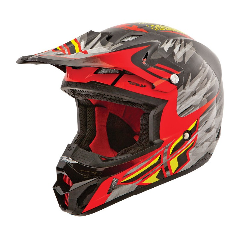 Fly Racing Helm Kinetic Pro Andrew Short rot