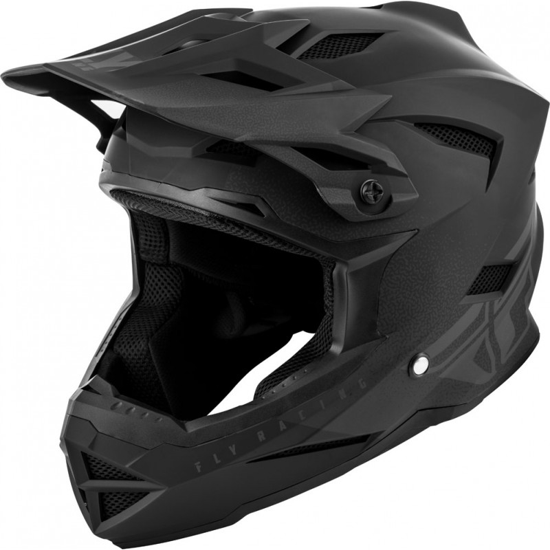 Fly Racing Helm MTB Default Kids schwarz-grau