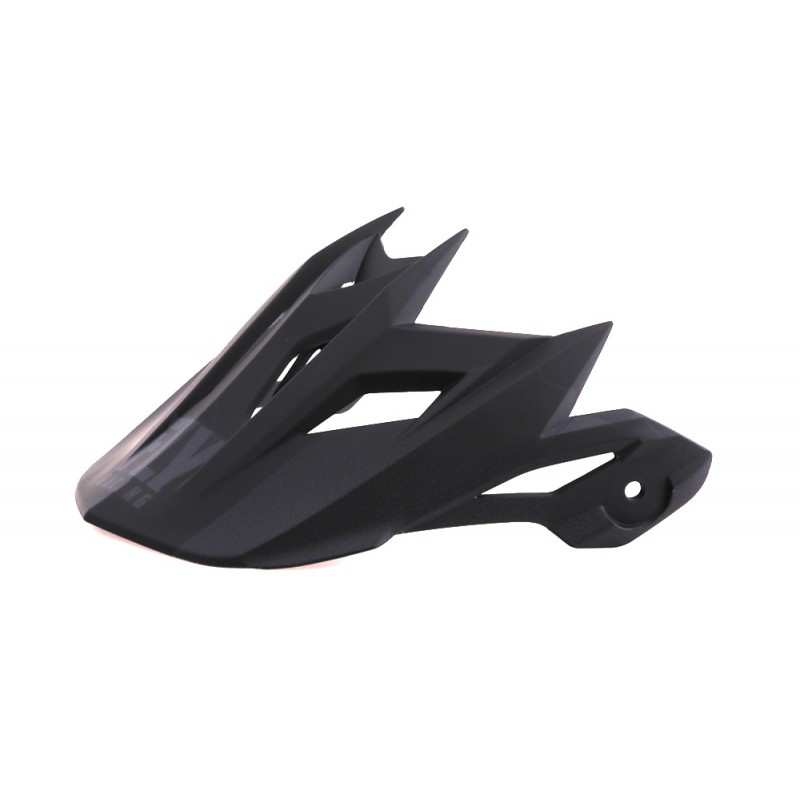 Fly Racing Helmschild Default schwarz-grau