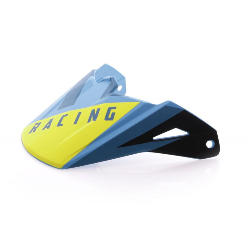 Fly Racing Helmschild Elite Vigilant blau-schwarz