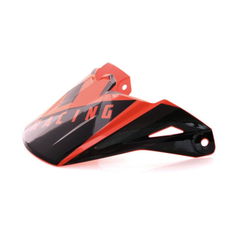 Fly Racing Helmschild Elite Vigilant orange-schwarz