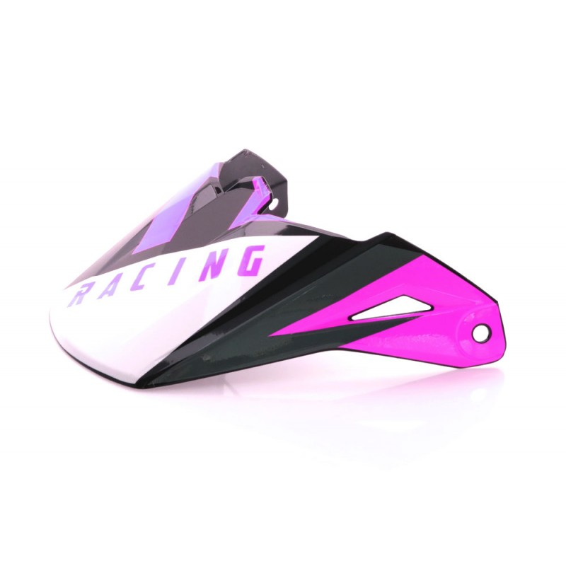 Fly Racing Helmschild Elite Vigilant pink-schwarz