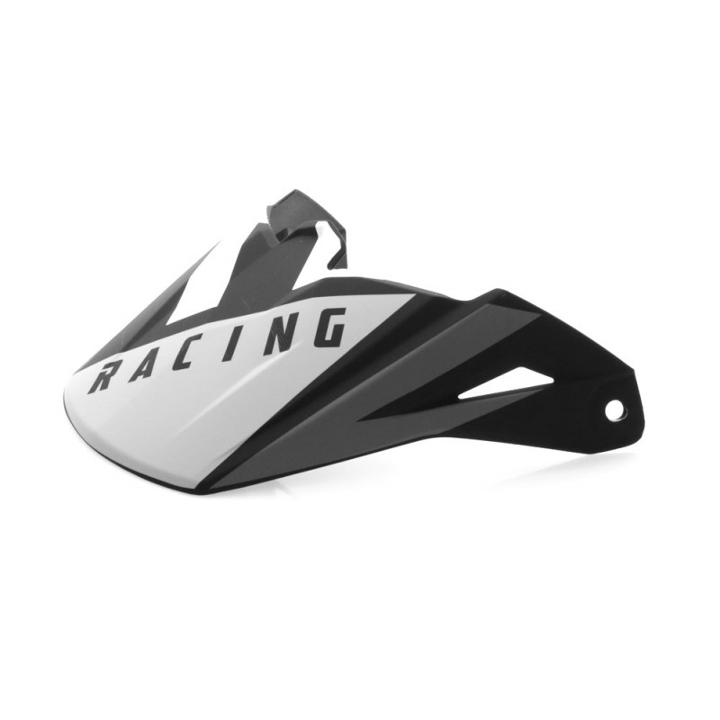 Fly Racing Helmschild Elite Vigilant schwarz-grau