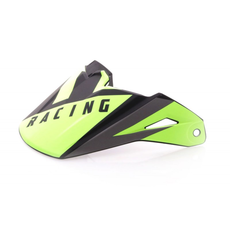 Fly Racing Helmschild Elite Vigilant schwarz-hi-vis