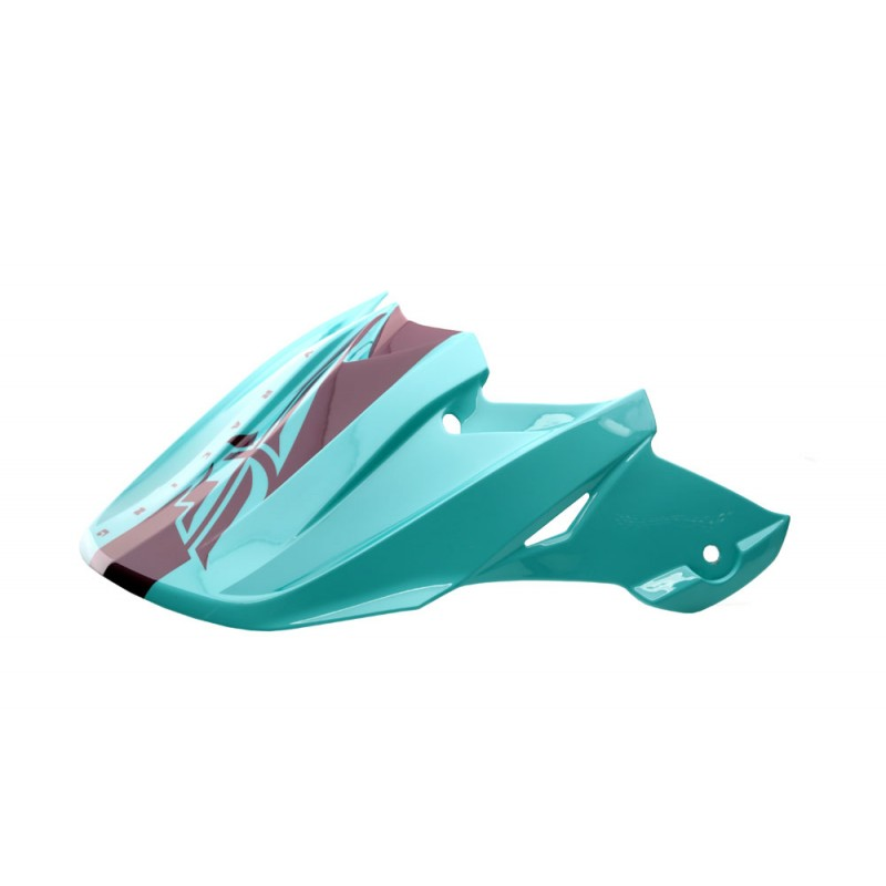Fly Racing Helmschild F2 Mips Shield seafoam-port