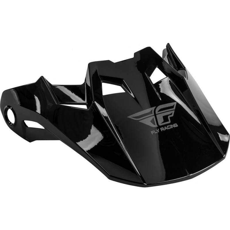 Fly Racing Helmschild Formula Carbon schwarz