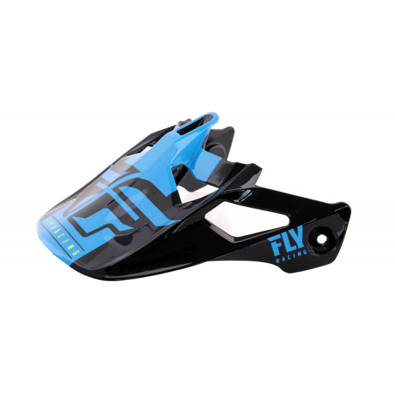 Fly Racing Helmschild Werx Imprint schwarz-blau