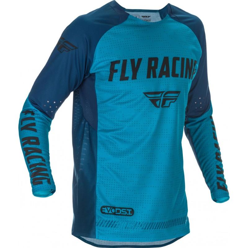 Fly Racing Hemd Evolution DST blau-schwarz