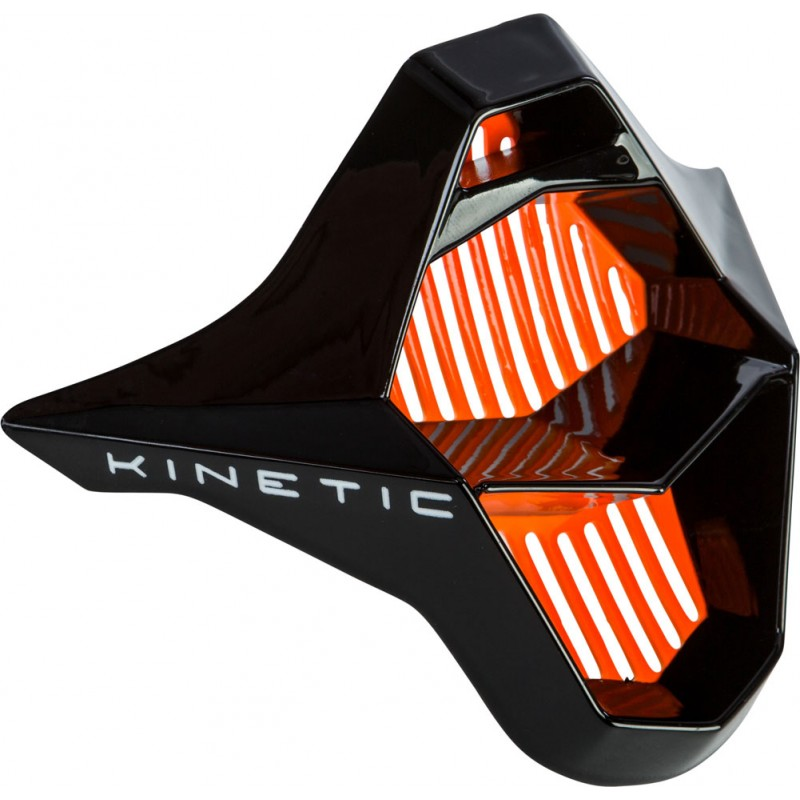 Fly Racing Mundstück Kinetic Sharp orange-schwarz