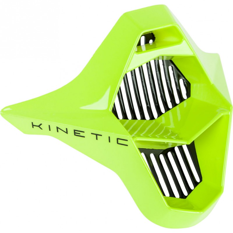 Fly Racing Mundstück Kinetic Sharp schwar-hi-vis