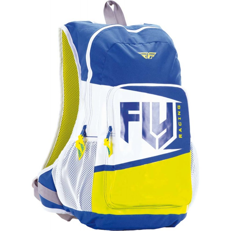 Fly Racing Rucksack Jump blau-lime