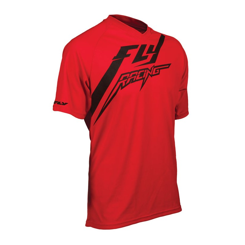 Fly Racing Shirt Action rot