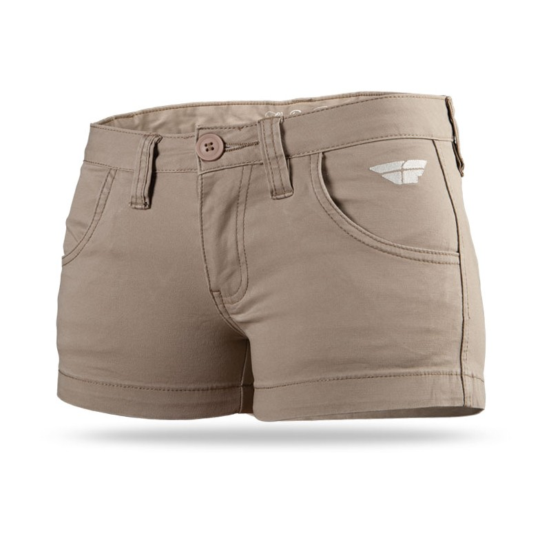 Fly Racing Short MX-Quisite Lady khaki