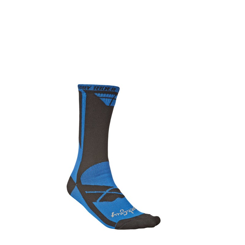 Fly Racing Socken Factory Rider blau-schwarz