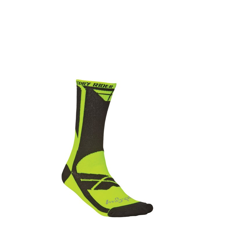 Fly Racing Socken Factory Rider neon