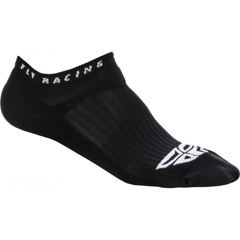 Fly Racing Socken No Show schwarz