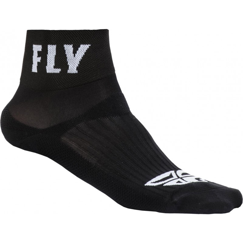Fly Racing Socken Shorty schwarz